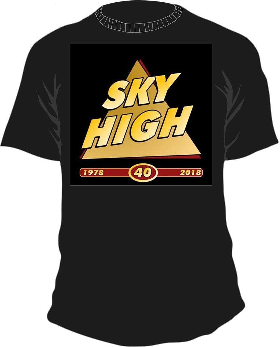 T-shirt Guldlogo